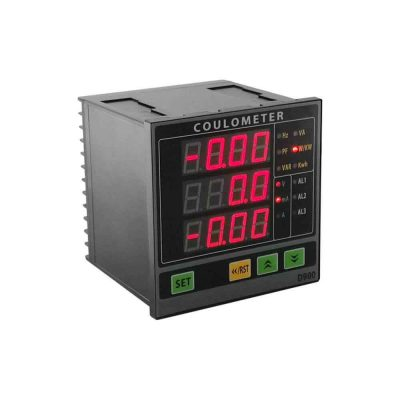 Single Phase Electrical Ampere Voltage Frequency Power Energy Meter Coulometer