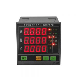 3 phase LED multifunction power meter