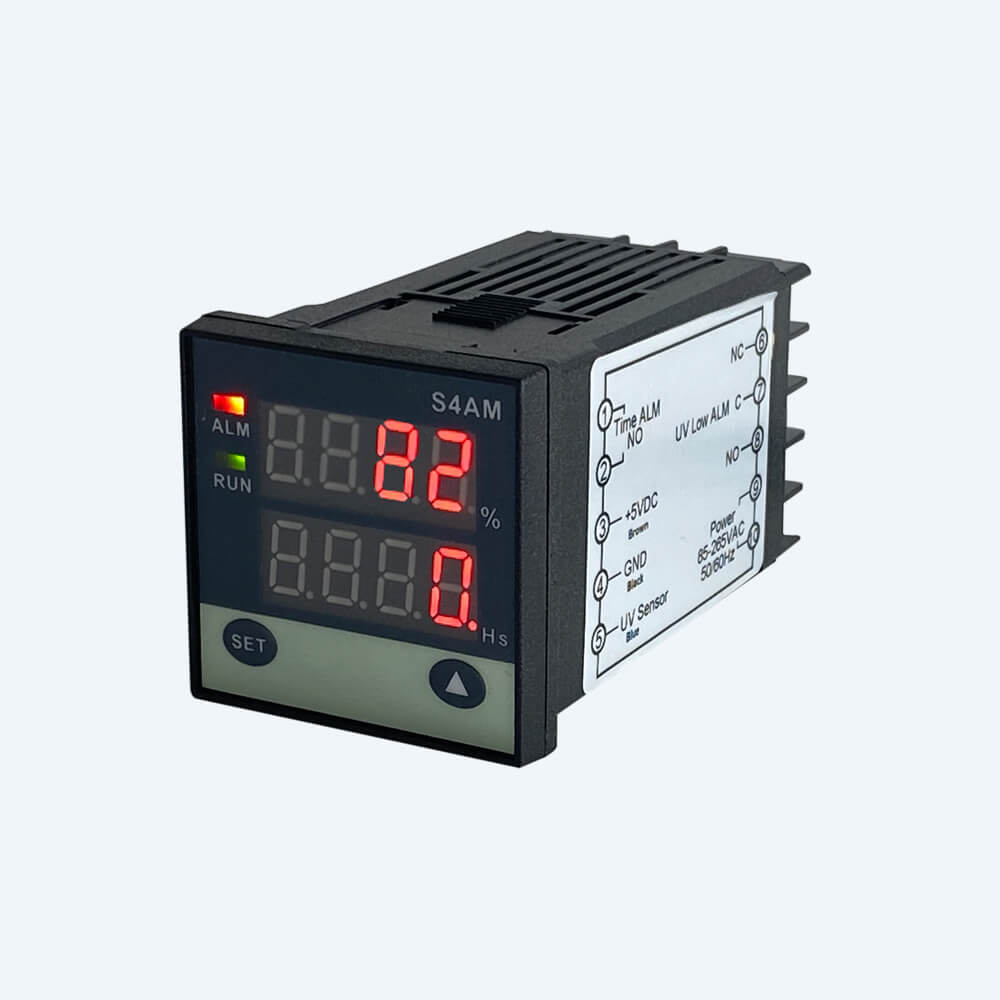 UVC light intensity meter